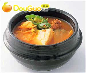 韩国牛肉酱汤的做法