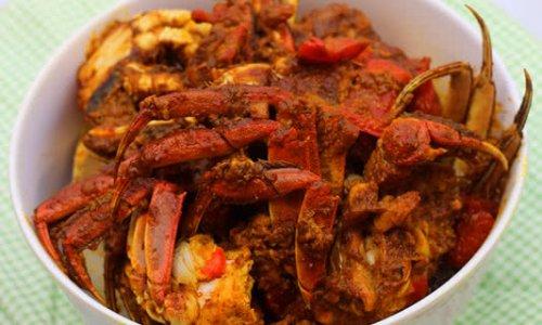椰汁咖喱蟹的做法