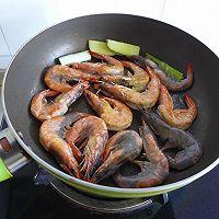 吮指焖大虾#我要上首页下饭家常菜#的做法图解5