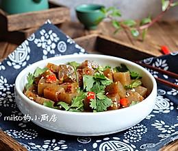 超好吃的减脂菜酸辣拌魔芋的做法