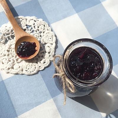 蓝莓苹果果酱(松下pm105面包机)