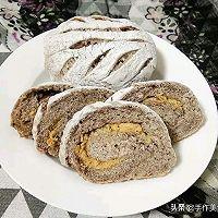 肉松豆沙面包的做法图解11