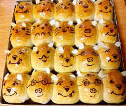 表情面包的做法