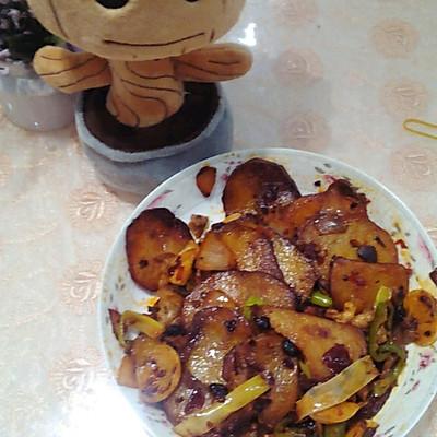 没有干锅的干锅土豆的做法 步骤7