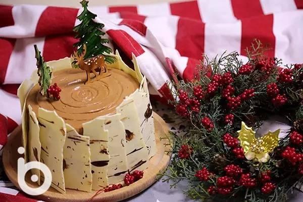桦树树桩蛋糕的做法