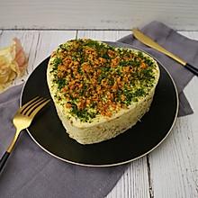水嫩肉松蒸蛋糕怎么将大蒜a肉松图片
