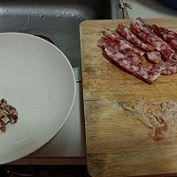 生炒糯米饭的做法图解2