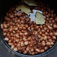 五香脆花生米~好好零食的做法图解2