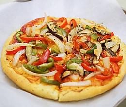 8寸无芝士版pizza:没什么能阻挡吃货的脚步了的做法
