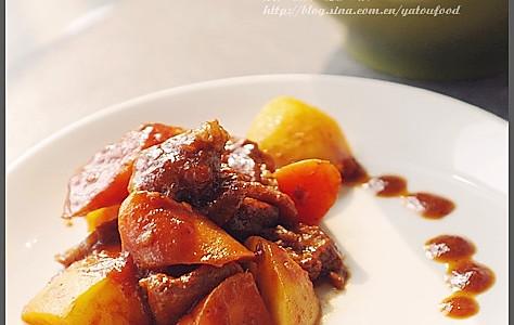 红酒番茄炖牛肉的做法