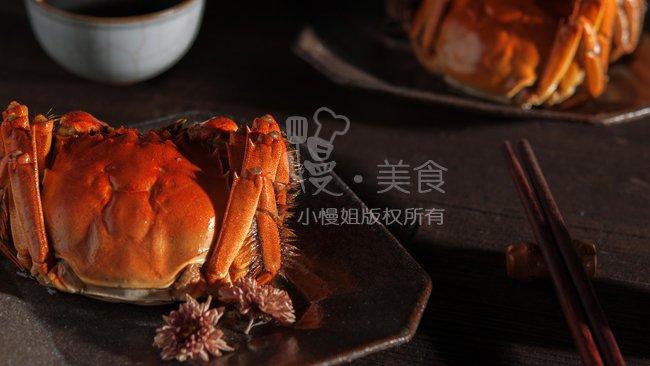 【慢氏秘制花雕熟醉蟹】几十次的试验 终于破解红透的熟醉蟹的做法