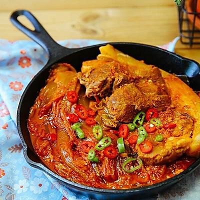 韩国泡菜猪肉锅
