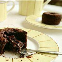巧克力熔岩小蛋糕#KitchenAid的美食故事#