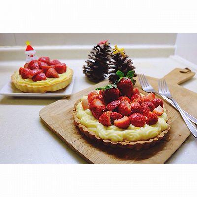 卡仕达草莓派