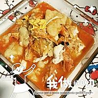 没有西红柿没有锅包肉疙瘩汤的做法图解1
