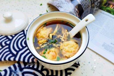 三鲜鱼丸汤
