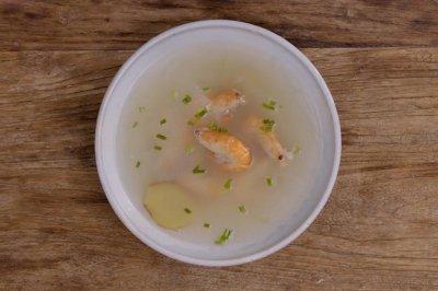 生姜冬瓜盐水虾|美食台