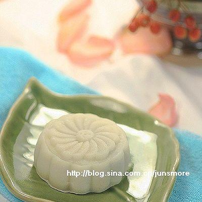 冰皮豆沙月饼