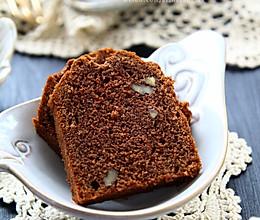 巧克力香蕉核桃磅蛋糕的做法