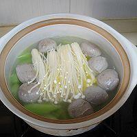 菌菇莴笋牛肉丸汤的做法图解9