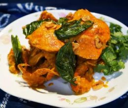 泰式黄咖喱蟹的做法
