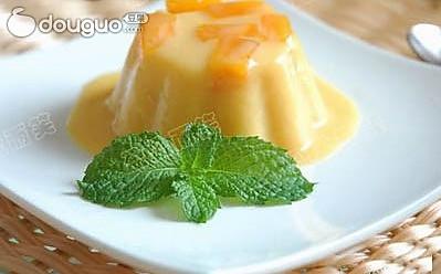 夏日甜品好分享—芒果布丁的做法