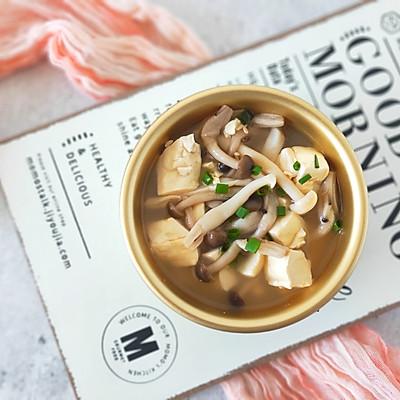 豆腐菌菇汤