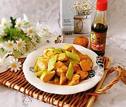 #不容错过的鲜美滋味#黄瓜烧豆腐的做法