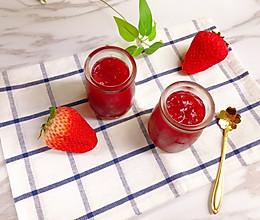 酸甜好吃的草莓果酱的做法