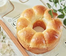 #秋天怎么吃#轻松出手套膜,松软香甜的牛奶面包一学就会的做法