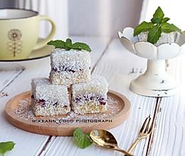 #秋天怎么吃#椰蓉手工年糕的做法