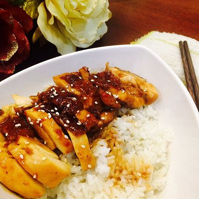 日式照烧鸡饭