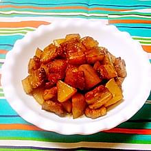白萝卜炖肉——豆果菁选酱油试用菜谱之三