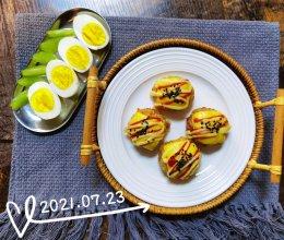 #丘比三明治#饭团的做法