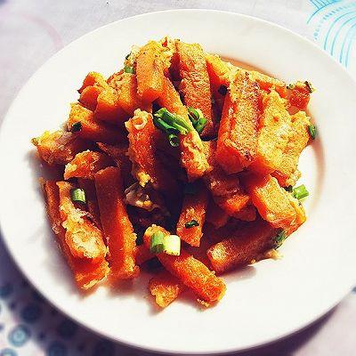 蛋黄焗南瓜~好吃的快手菜