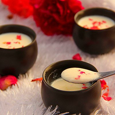 玫瑰姜撞奶