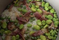 豆焖饭的做法