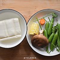 什锦豆腐 | 家常素食小菜的做法图解1