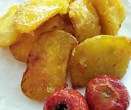 拔丝红薯山楂的做法