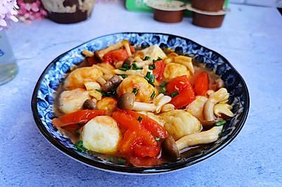 清蒸鱼丸汤