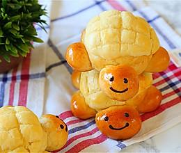 献礼儿童节的小乌龟菠萝包#一机多能 一席饪选#的做法