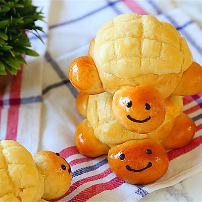 献礼儿童节的小乌龟菠萝包