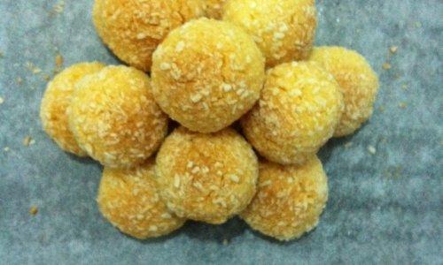 蛋黄椰丝球(超详细步骤)的做法