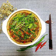 菌汤肥牛锅