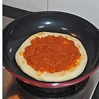 平底锅披萨的做法图解10