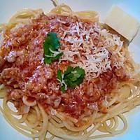 芝士番茄肉酱意面的做法图解5