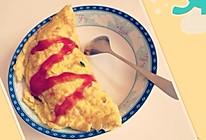 蛋包饭的做法