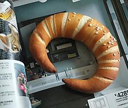 脆皮牛角面包的做法