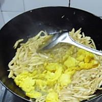 手撕杏鲍菇煎蛋的做法图解9