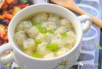 豆腐小丸子 宝宝辅食食谱的做法